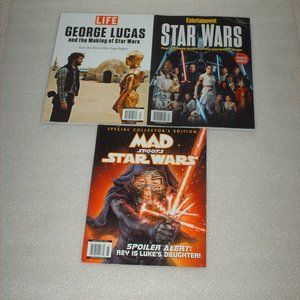 Great bundle of Star Wars collectible magazines